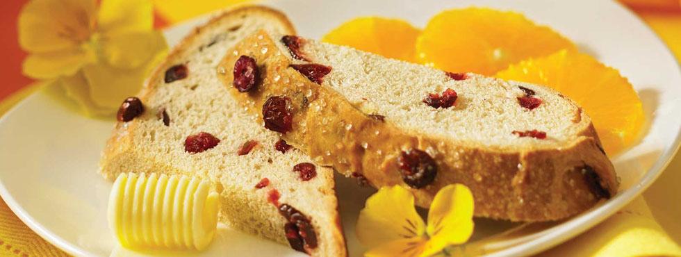 Cranberry Focaccia | Recipes