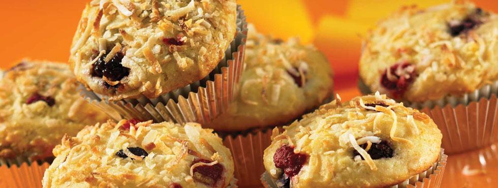 Coconut Crunch Muffins | Recipes