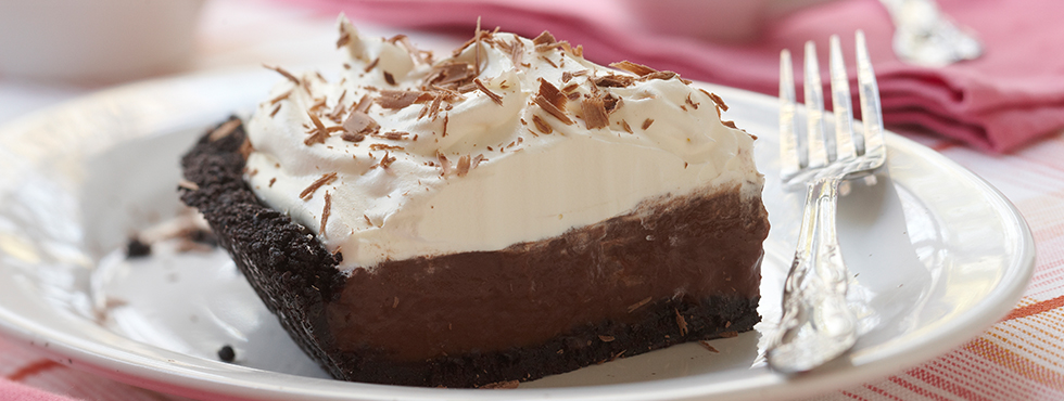 Double Chocolate Cream Pie | Recipes