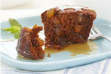 Sticky Toffee Pudding with Warm Caramel Sauce