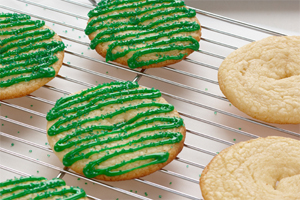Zesty Lime Cookies