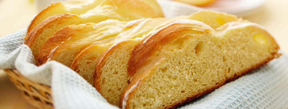 Orange Scented Easter Bread | Recipes