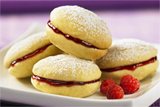 Raspberry Lemon Whoopie Pies
