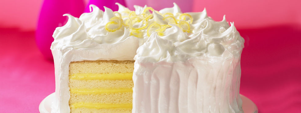 Lemon Meringue Cake | Recipes