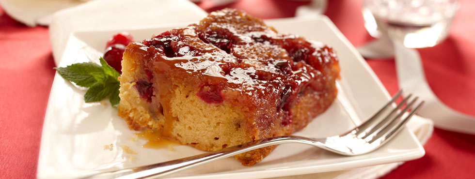 Cranberry Upside-down Cake | Recipes
