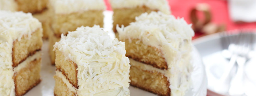 White Chocolate Coconut Layer Cake | Recipes