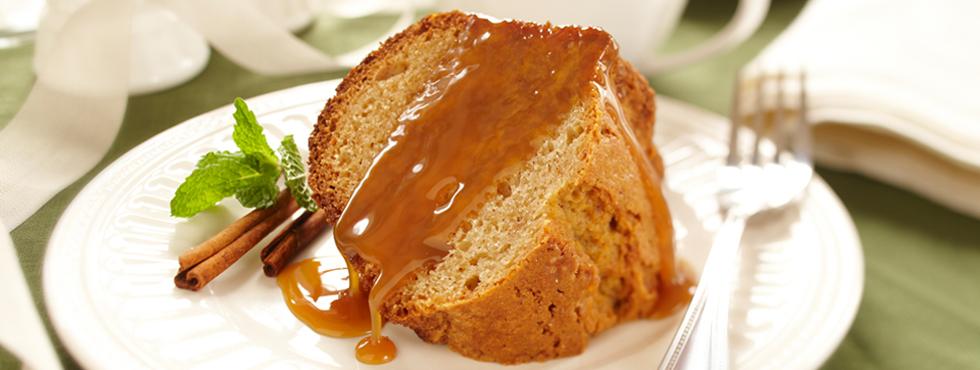 Spice Cake with Caramel Glaze | Recipes