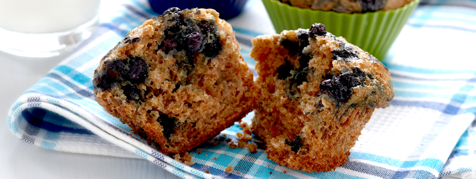 Blueberry Bran Muffins | Recipes