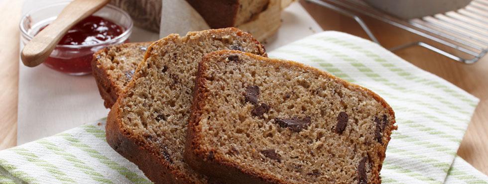 Dark Chocolate Chunk Banana Bread | Recipes