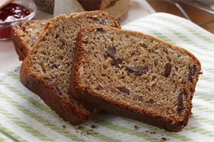 Dark Chocolate Chunk Banana Bread