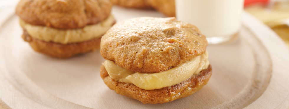 Carrot Cake Sandwiches | Recipes