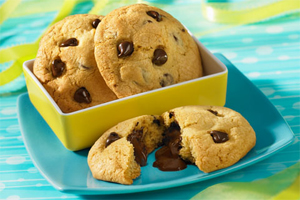 Chocolate Surprise Cookies