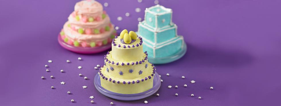 Magnificent Mini-Tiered Cakes | Recipes