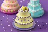 Magnificent Mini-Tiered Cakes