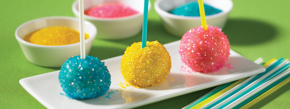 Sparkly Cake Pops | Recipes