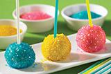 Sparkly Cake Pops