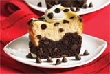 Chocolate Chip Black Bottom Cheesecake