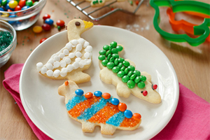 Candy Animal Cookies