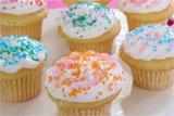 Mini Vanilla Cupcakes