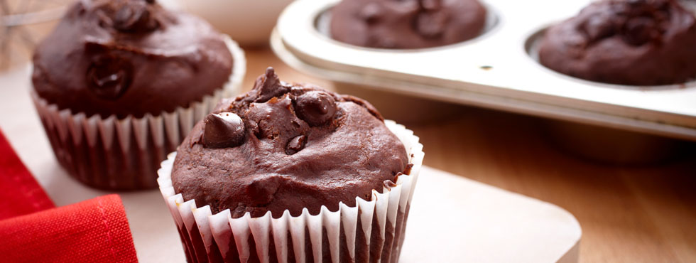 Double Chocolate Muffins | Recipes