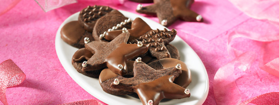 Chocolate Dipped Shortbread Bliss | Recipes