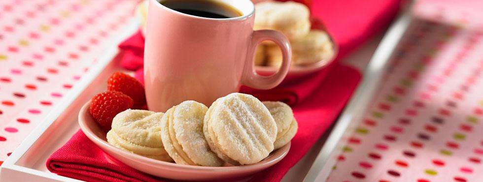Vanilla Sandwhich Cookies | Recipes
