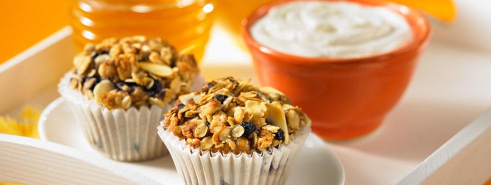 Honey Multigrain Muffins   Recipes