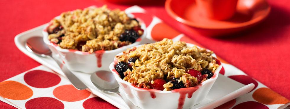 Apple Berry Fruit Crisp | Recipes