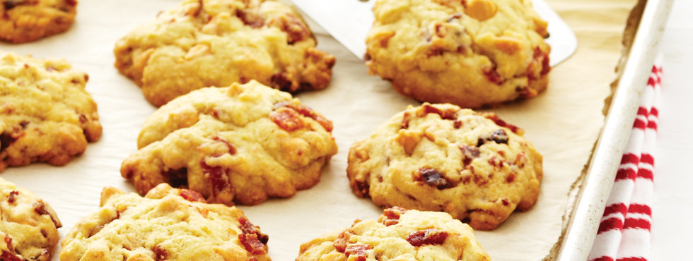 Chewy Bacon Butterscotch Cookies | Recipes