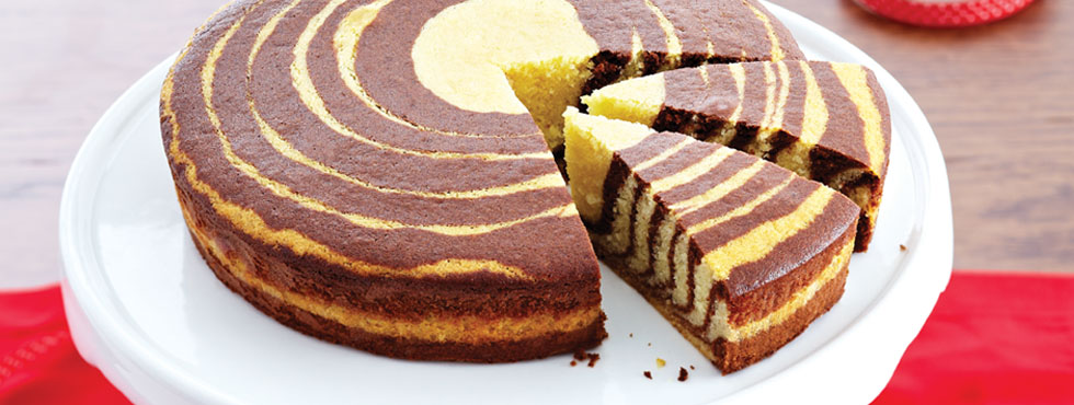 Zebra Cake | Recipes