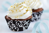 Creamy Filled Chocolate Cupcakes
