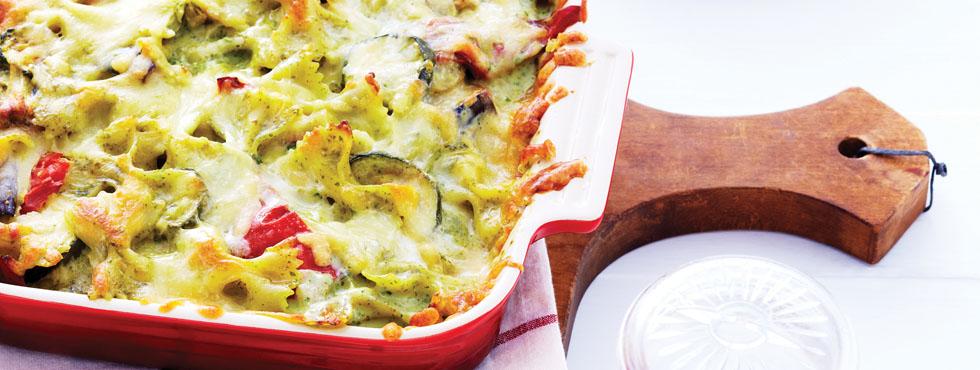 Tuscan-Inspired Pesto Pasta | Recipes