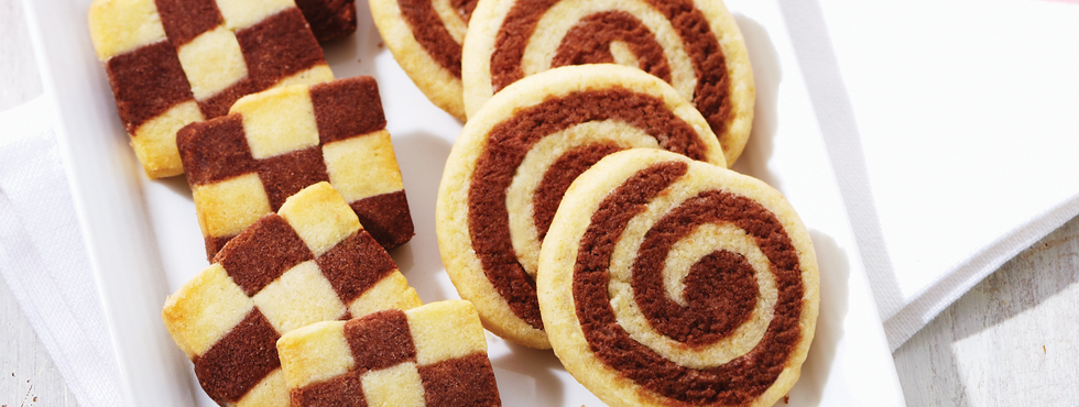 Checkerboard Cookies | Recipes