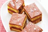 Sweet and Salty Chocolate Caramel Bars