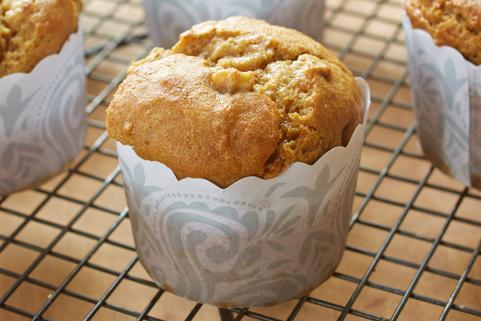 Gluten Free* Banana Bread Muffins