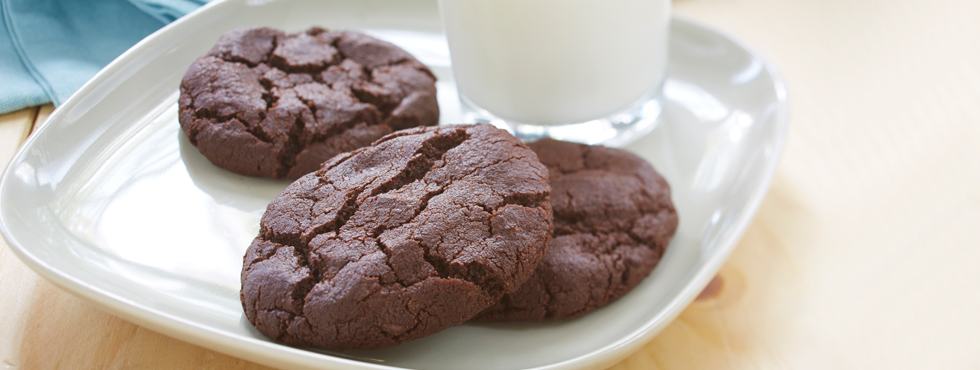 Gluten Free* Double Chocolate Cookies | Recipes