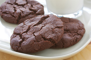 Gluten Free* Double Chocolate Cookies