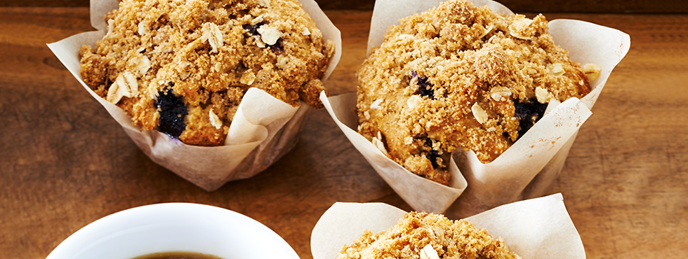 Blueberry Streusel Muffins | Recipes
