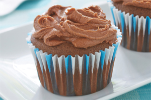Gluten Free* Chocolate Fudge Cupcakes