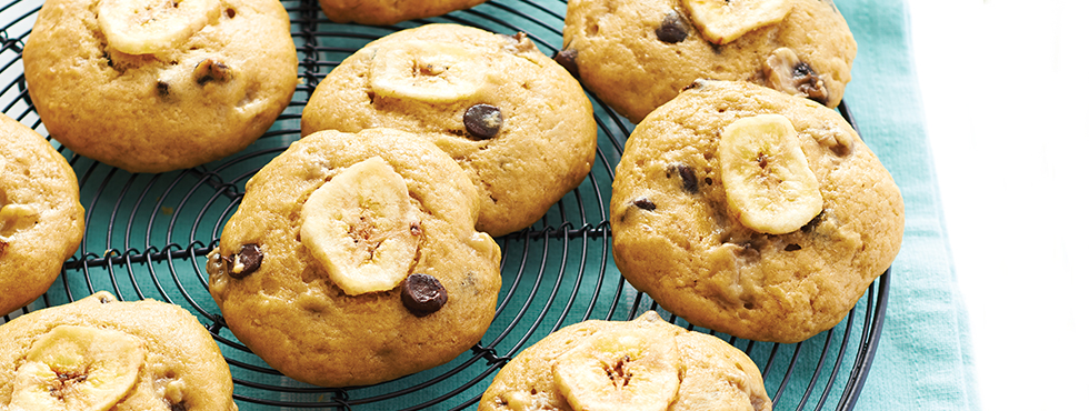 Choco-Banana Bread Bites | Recipes