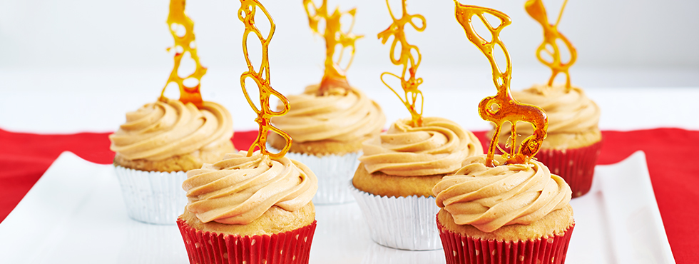 Gingerbread Caramel Cupcakes | Recipes