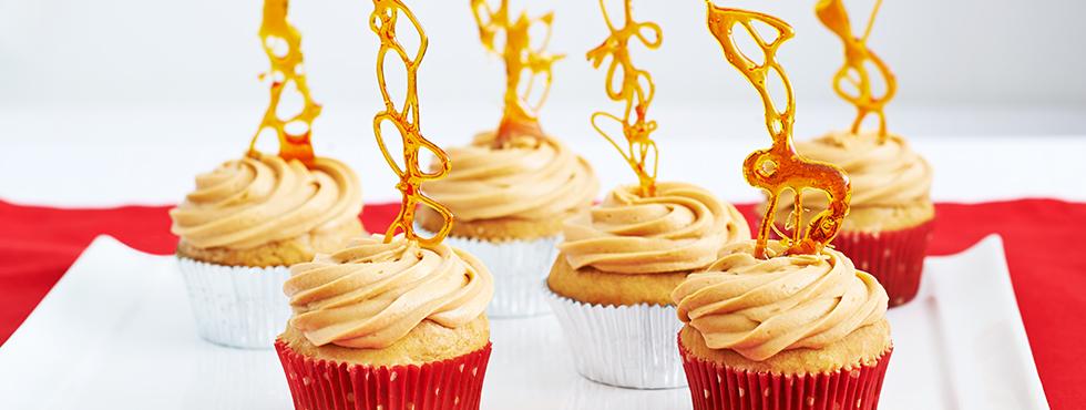 Gingerbread Caramel Cupcakes | Recipes