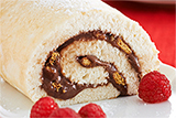 S mores Angel Food Cake Roll
