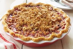 Berry Streusel Pie
