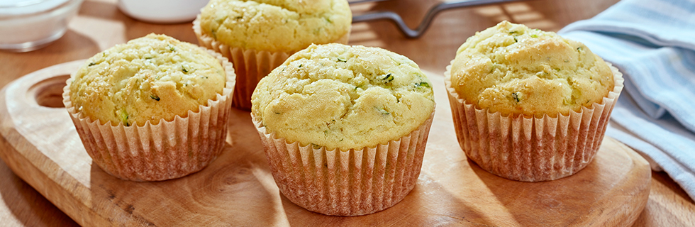 Zesty Zucchini Muffins* | Recipes