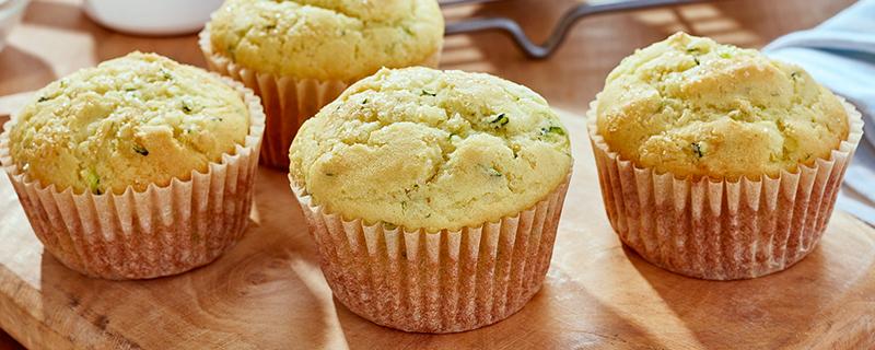 Zesty Zucchini Muffins*