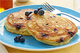 Gluten Free* Blueberry Buttermilk Pancakes
