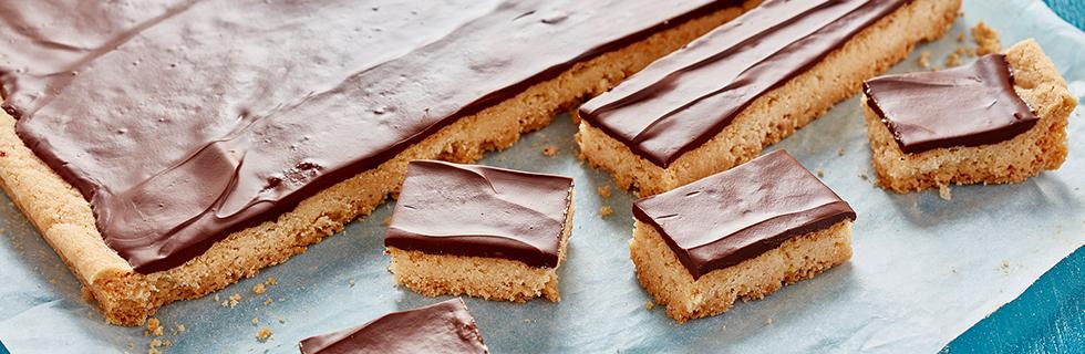 Chocolate Shortbread Bars* | Recipes