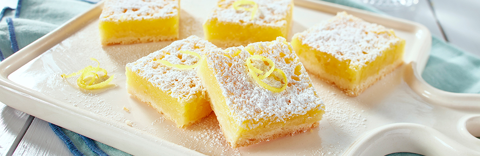 Luscious Lemon Squares (and yes they are gluten free*!!!!!) | Recipes