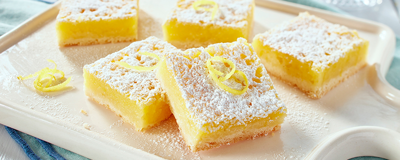 Luscious Lemon Squares (and yes they are gluten free*!!!!!)